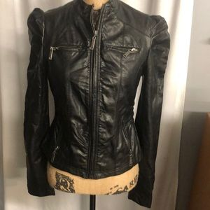 Jou Jou small faux leather jacket
